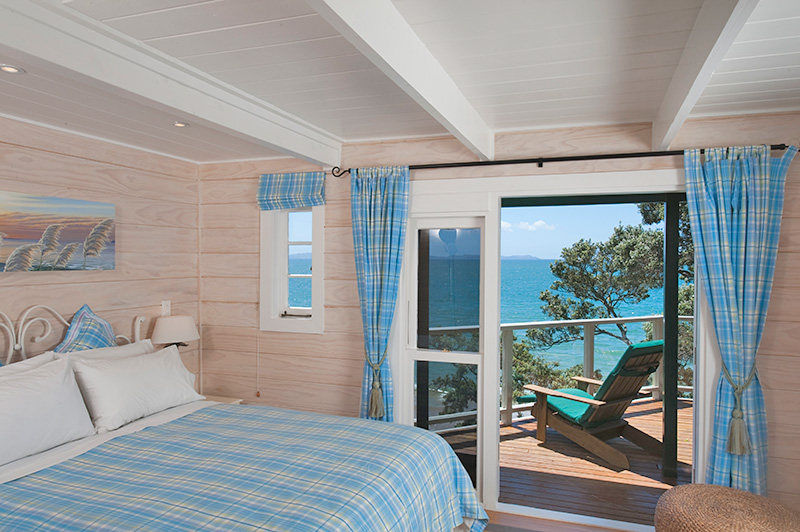 sunset apartment bedroom at beach lodge coopers beach